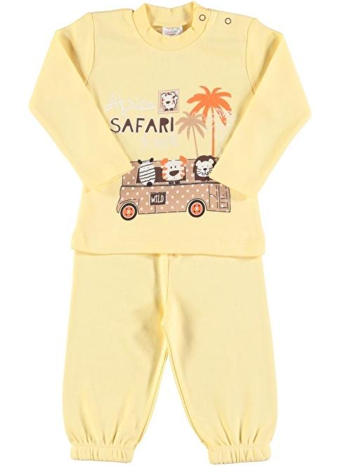 Luggi Baby Pijama Takım Sarı